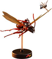 Ant-Man and the Wasp (2018) - Ant-Man on Flying Ant with The Wasp Hot Toys Action Figure (Set of 2)
