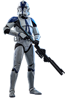 Star Wars: The Clone Wars - 501st Battalion Clone Trooper 1/6th Scale Hot Toys Action Figure