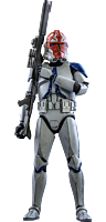 Star Wars: The Clone Wars - 501st Battalion Clone Trooper Deluxe 1/6th Scale Hot Toys Action Figure