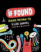 If Found Please Return to Elise Gravel Hardcover | Popcultcha