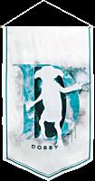 Harry Potter - Dobby Watercolour Satin Banner