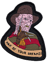 A Nightmare on Elm Street - Freddy Krueger 'Man of Your Dreams' Embroidered Patch