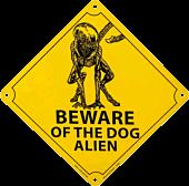Alien 3 - Beware of the Dog Alien Tin Sign