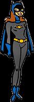 Batman: The Animated Series - Batgirl Enamel Pin