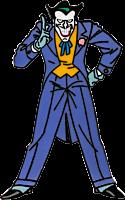 Batman: The Animated Series - The Joker Enamel Pin