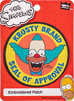The Simpsons - Krusty Brand Seal of Approval Patch
