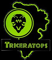 Jurassic Park - Triceratops Map Enamel Pin