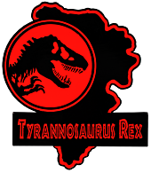 Jurassic Park - Tyrannosaurs Rex Map Enamel Pin