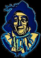 Wizard of Oz - Scarecrow Enamel Pin