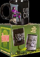 The Phantom - Even Heroes Need a Coffee Break Heat Changing Mug