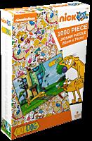 Catdog - Yard Jigsaw Puzzle (1000 Piece)