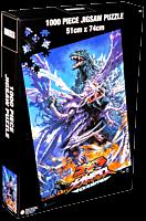 Godzilla - Godzilla Vs Megaguirus Jigsaw Puzzle (1000 Piece)