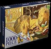 Animalia - Lazy Lions Collector Jigsaw Puzzle (1000 Piece)