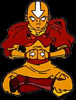 Avatar: The Last Airbender - Aang The Last Airbender Enamel Pin