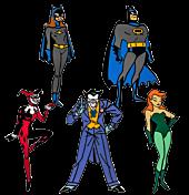 Batman: The Animated Series - Series 1 Enamel Pin Bundle (Set of 5)