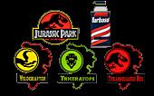 Jurassic Park - Series 1 Enamel Pin Bundle (Set of 5)