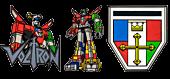 Voltron - Series 1 Enamel Pin Bundle (Set of 3)