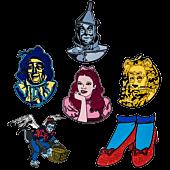 Wizard of Oz - Series 1 Enamel Pin Bundle (Set of 6)