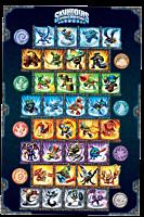 Skylanders - Characters Chart Poster