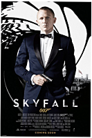 James Bond 007 - Skyfall One Sheet Black Poster