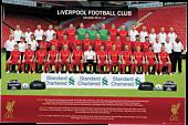 Liverpool FC - Team 2012/13 Poster