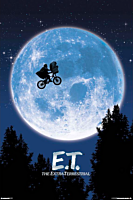 E.T. The Extra Terrestrial - Moon Poster (1116)