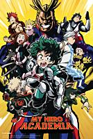 My Hero Academia - Season One Poster (1122)