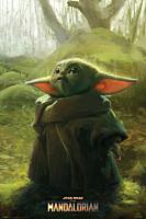 Star Wars: The Mandalorian - Swamp Poster (1123)