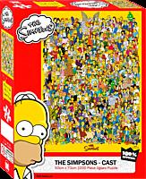 The Simpsons - Cast 1000 Piece Jigsaw Puzzle