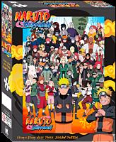 Naruto Shippuden - Cast 1000 Piece Jigsaw Puzzle