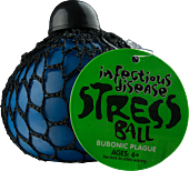 Infectious Disease Bubonic Plague Stress Ball (blue) Main Image