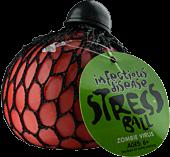 Infectious Disease Zombie Virus Stress Ball (Orange) Main Image