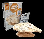 Star Wars - Millennium Falcon IncrediBuilds Collectors Edition Hardcover Book & Wooden Model Set