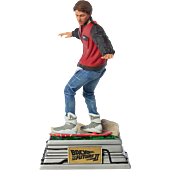 Back to the Future Part II - Marty McFly on Hoverboard 1/10th Scale Statue