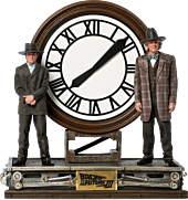 Back to the Future Part III - Marty & Doc at the Clock Deluxe 1/10th Scale Statue