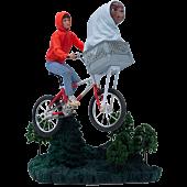 E.T. The Extra Terrestrial - E.T & Elliott 1/10th Scale Statue