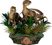 Jurassic Park - Just the Two Raptors Deluxe 1/10th Scale Statue