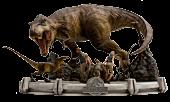Jurassic Park - The Final Scene 1/20th Scale Diorama Statue