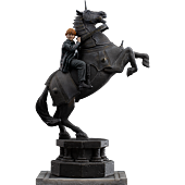 Harry Potter - Ron Weasley at the Wizard Chess Deluxe 1/10th Scale Statue