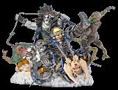 Lobo - Lobo 1/6th Scale Diorama Statue by Ivan Reis