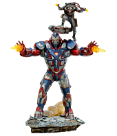 Avengers 4: Endgame - Iron Patriot & Rocket 1/10th Scale Statue