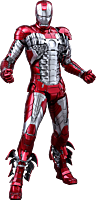 Iron Man Mark V (5) 1/6th Scale Hot Toys Die-Cast Action Figure