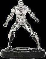"Iron Man - Retro Iron Man 6"" Pewter Statue | Popcultcha"