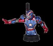 Iron Man 3 Iron Patriot Mini Bust - Main Image