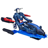 Iron Patriot with Arc Thruster Jet Titan Heroes