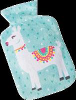 Green Llama Pocket Hot Water Bottle
