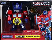 "Transformers: Generation 1 - Optimus Prime 4"" Scale Metals Die-Cast Figure"