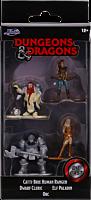 "Dungeons & Dragons - Nano Metalfigs Starter Pack B 2"" Scale Die-Cast Figure 4-Pack"