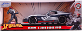 Spider-Man - Venom with 2008 Dodge Viper SRT10 1/24th Scale Hollywood Rides Die-Cast Vehicle Replica