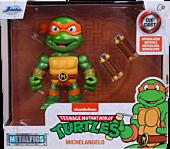 """Teenage Mutant Ninja Turtles - Michelangelo 4"""" Scale Metals Die-Cast Figure"""